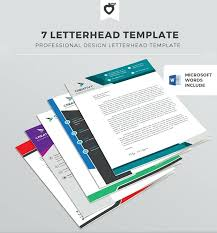 Professional Stationary Template Letterhead Templates Free Download ...
