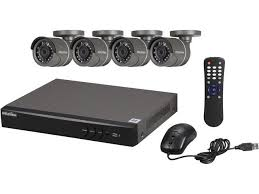 LaView LV-KH944FT4A8-T1 4 Channel Premium HD-TVI Security System HD 1080P