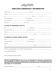emergency contact template emergency contact form template eliolera com