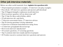 top executive assistant interview questions and answers 57 other job interview