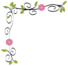 Small Picture flower border Clipart