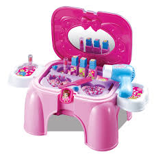 makeup kits for little girls. berpura pura mainan gadis make up set tangan membawa kursi miniatur makeover furniture meja rias plastik bermain rumah di furnitur makeup kits for little girls u