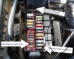 1995 bronco fuse relay question 80 96 ford bronco 66 96 ford 1996 ford f 150 fuse box diagrams at 96 Ford F150 Fuse Box