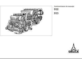 deutz fl 913 engine specs bolt torques and manuals image deutz 912 913 operating manual spanish p1