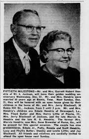 Garrettt and Rosa Hendrix 50th Anniversary - Newspapers.com