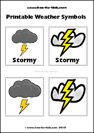 Polish your personal project or design with these weather symbols transparent png images, make it even more personalized and more attractive. Printable Children S Weather Symbols Www Free For Kids Com