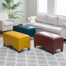 Storage Benches For Living Room Unique Leather Storage Bench Adorable Home