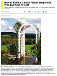 Small Picture Free Arbor Plans How to Build an Arbor