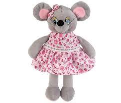 Мульти-пульти <b>Мышка</b> платье в цветочек 16 см - Акушерство.Ru