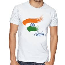 Indian Flag T Shirts Design Buy Limit Fashion Store Indian Flag Design Unisex T Shirt