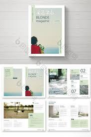 e magazine templates free download fashion art fresh magazine template design fresh clean