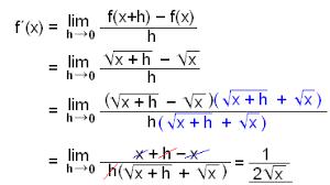 Math Scene Derivatives Lesson 3 Roots Negative Powers
