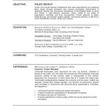 Law Enforcement Resume Template Adorable Police Officer Resume Template Download Law Enforcement Resume