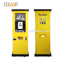 Printing Vending Machine New Boft 48''touch Screen Printing Vending Machine With Bill And Coin