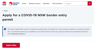 Melbourne lockdown preparation begins as nsw border closed. Nsw Victoria Border Permit Site Stalls As Covid 19 Lockout Deadline Ends Zdnet