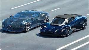 Compare the aston martin valkyrie, bugatti centodieci, and bugatti chiron side by side to see differences in performance, pricing, features and more Aston Martin Valhalla Vs Bugatti La Voiture Noire Drag Race 20 Km Youtube
