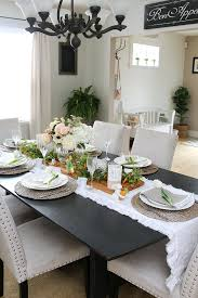 decorating ideas dining room. Beautiful Easter And Spring Decorating Ideas For The Dining Room With Free N