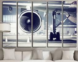modern aviation wall art