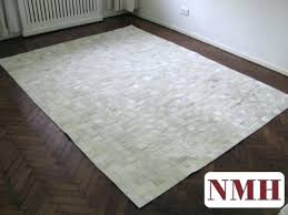 cowhide patchwork rug details about new cowhide patchwork rug leather carpet cu off white patchwork cowhide