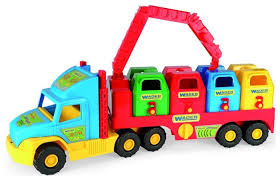 Мусоровоз <b>Wader Super Truck</b> (36530) — купить по выгодной ...