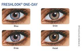 Freshlook Lenses Colors Chart Freshlook One Day Color Pure Hazel Powerless 10 Lens Pack