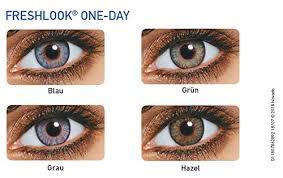 Freshlook Color Chart For Dark Eyes Freshlook One Day Color Pure Hazel Powerless 10 Lens Pack