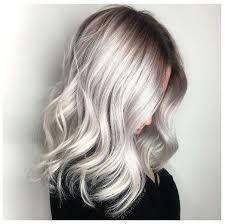صبغات الشعر الفضي صيحة الألوان لخريف وشتاء 2018 2019