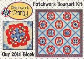 Patchwork Party 2014 - Quilted Treasures &  Adamdwight.com