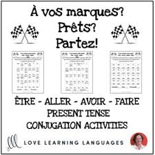 French Verb Chart Faire