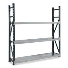 dexion longspan shelving 600mm deep 3 steel shelves