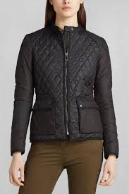 belstaff randall quilted jacket in black