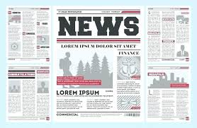 Free Front Page Newspaper Template Indesign Tabloid Template Front Page 3 Column Tabloid Newspaper
