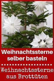 Weihnachtssterne Aus Brottüten Weihnachten Christmas