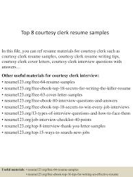 Courtesy Clerk Resume Top224courtesyclerkresumesamples224conversiongate224thumbnail24jpgcb=12429929935 7