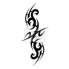 Plakát Tattoo Tribal Vector Design Jednoduché Rukávové Rameno Jednoduché