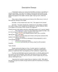 5 Free Descriptive Essay Templates Pdf Free Premium