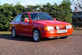 Ford Escort RS Turbo 1989 - South Western Vehicle Auctions Ltd