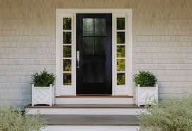 black front door ideas to up your curb