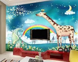 Behang Kinderkamer Regenboog Minimalistische Regenboog Behangkoop
