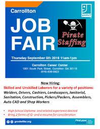 Randstad Carrollton Ga Upcoming Job Fairs Housing Authority Of The City Of Carrollton
