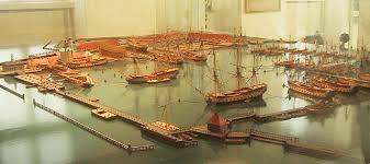 1692-1744 Major Shipyard At - The Danish Holmen Built Warships