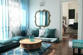 Moroccan Inspired Furniture Style Living Room Condo Contemporary  Set . ... A