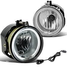 2010 Dodge Avenger Fog Light Bulb For 2005 To 2010 Dodge Avenger Charger Challenger Chrysler Sebring Halo Ring Fog Lights Switch Ccfl Power Inverter Clear Lens 06 07 08 09