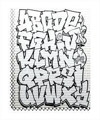 Graffiti Letters Template Letter Templates Stencil Alphabet Edunova Co