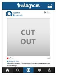 frame. Instagram Frame N