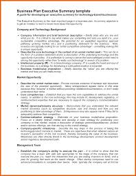 executive business plan template executive summary business plan template genxeg business plan