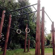 ninja warrior outdoor gym diy pull up