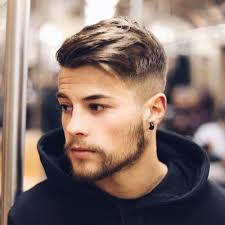 Mens Hairstyles For Thick Hair 99 Inspiration 24 Young Men's Haircuts Pinterest Side Sweep Hair High Fade And