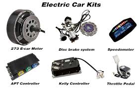 electric car motor for sale. High Efficiency Dual 8000W 273 50H V3 Wheel Motor Electric Car  Conversion Kits For Sale T