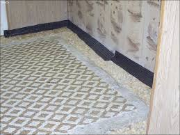 image of basement french drain covers